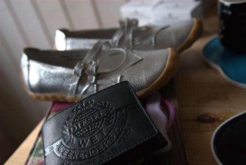 Tegnebog og sko...