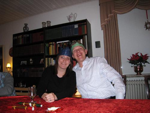 Michael og Anna Louise....