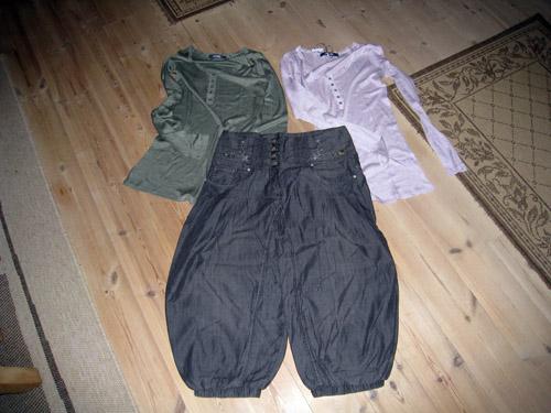 Nyt tøj.....