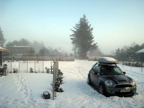 Tåge over Blokhus...