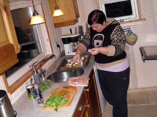 Konens køkken...