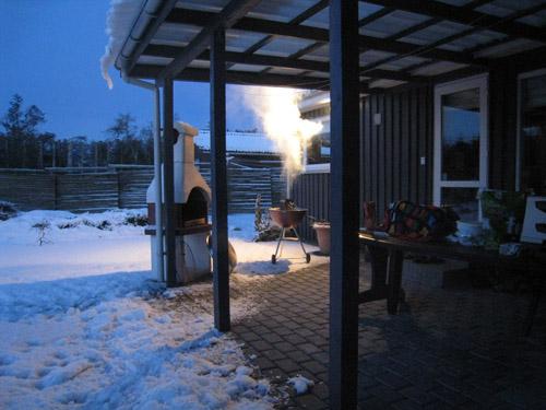 Vinter grill....