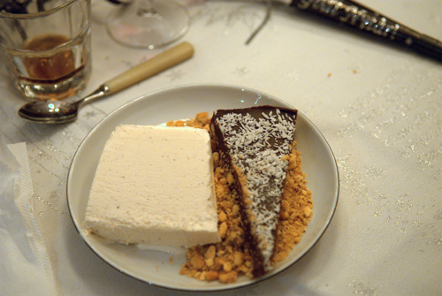 Desserten....