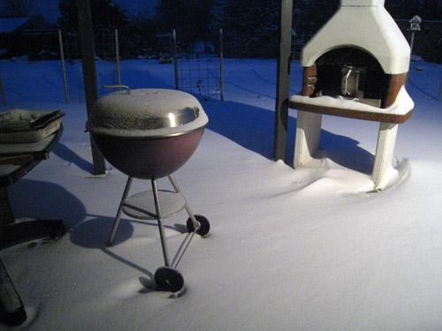 Sne grill...