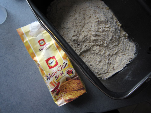 Majs og Chili brød...