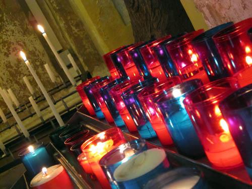 Lys i kirken...