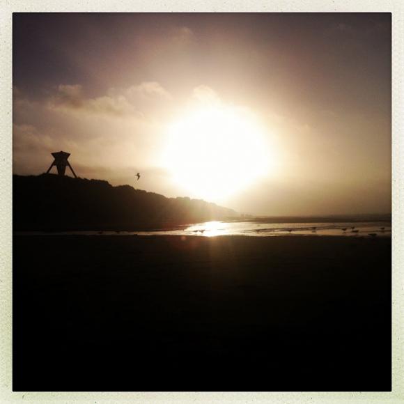 Stranden...