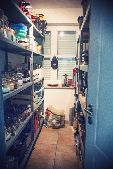 Spisekammer/opbevaringsrum...