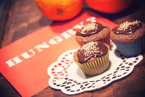 Choko-orange Mini Cupcakes...