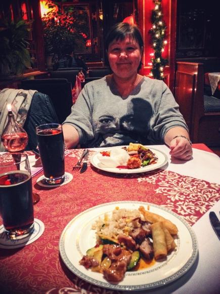Restaurant Rosengarten i Freising...