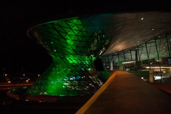 München i grönt...