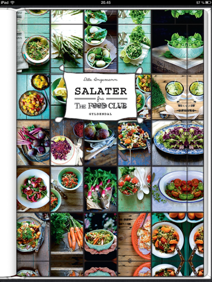 Laekker salatbog fra The Food Club...