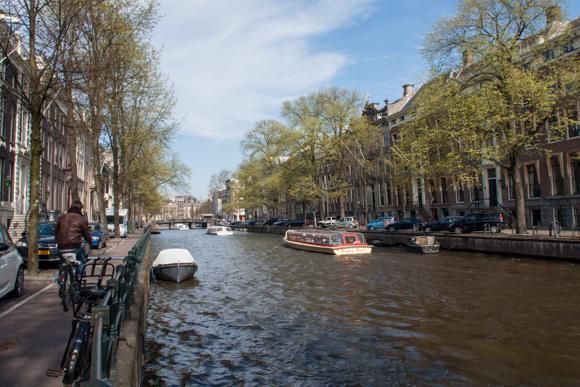 Amsterdam og Den Haag...