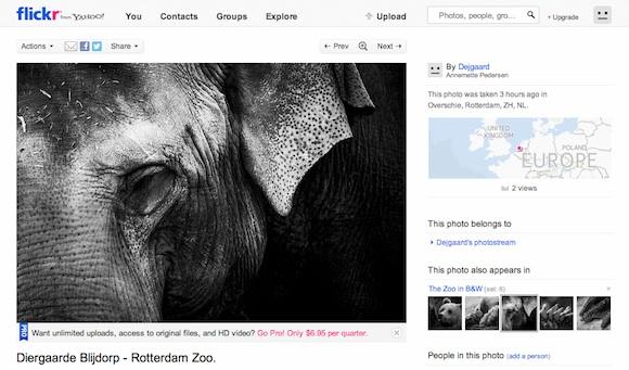 Så er jeg kravlet på Flickr...