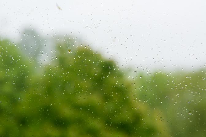 Det bliver en våd weekend...