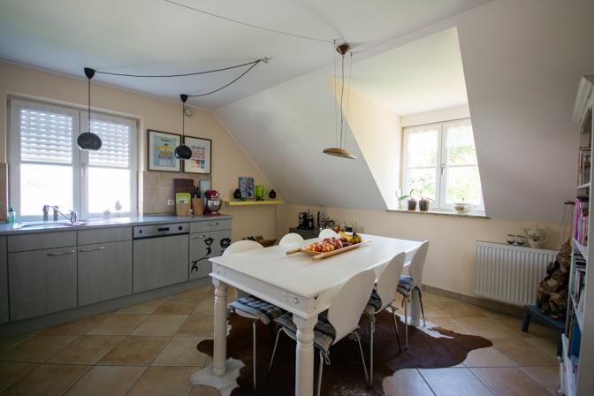 Rundtur i vores hjem - køkkenet...