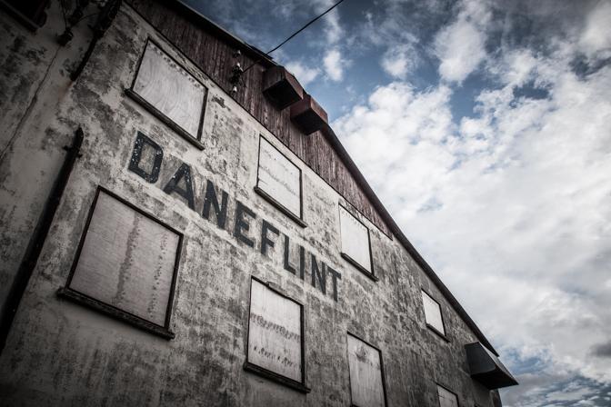 Aftentur til Dane Flint...