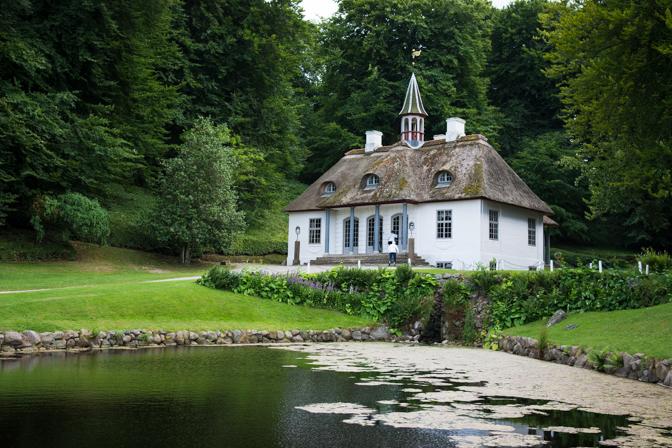 Møns Klint og Liseluns Slot...