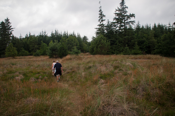 Geocaching omkring grusgraven...