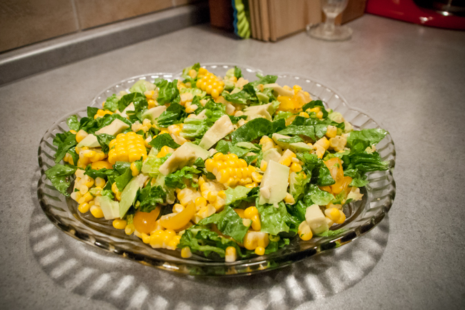 Dagens salat er gul...