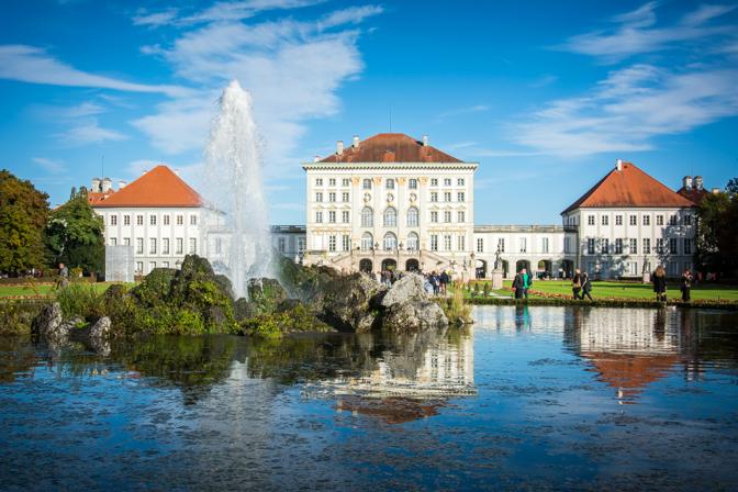 Efterår ved Nymphenburg...