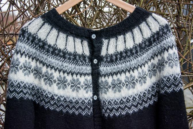 Drops trøje med norsk mønster...