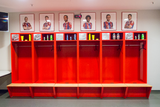 Allianz Arena - home of FC Bayern...