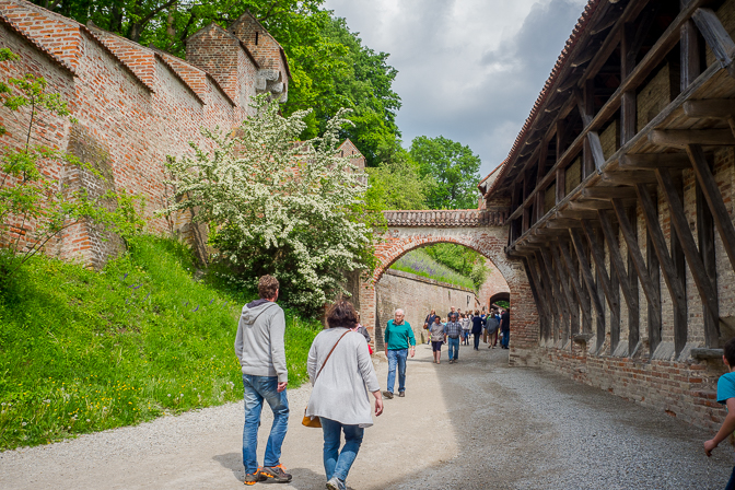 Gartenfestival på Burg Trausnitz...