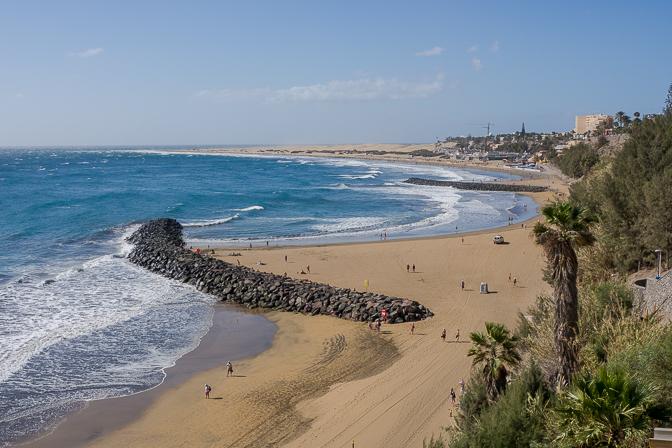 Gran Canarias sol og varme...