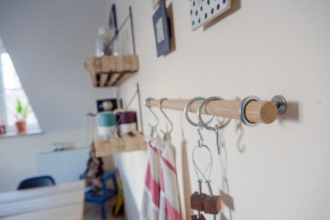 Nye hylder og et gør-det-selv-projekt...