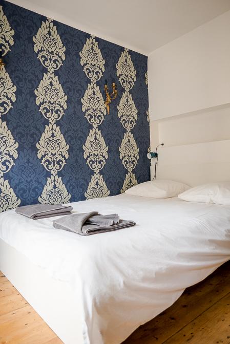 Med Airbnb i Prag...